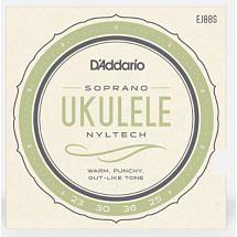 D'Addario EJ88S Nyltech Soprano Ukulele String Set