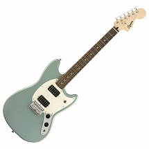 Squier by Fender Bullet Mustang HH Electric Guitar,Sonic Grey