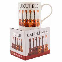 Little Snoring: Music Word Mug Ukuele