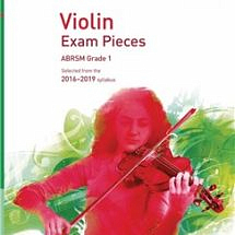 Violin Exam Pieces 2016–2019, Violin Part Only,ABRSM