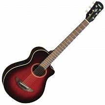 Yamaha APXT2 3/4 Electro Acoustic Guitar, Dark Red Burst