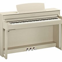 Yamaha CLP-645 Clavinova Digital Piano In White Ash finish