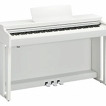 Yamaha CLP-625 Clavinova Digital Piano In White finish