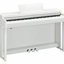 Yamaha CLP-625 Clavinova Digital Piano In White finish