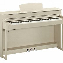 Yamaha CLP-635 Clavinova Digital Piano In White Ash finish