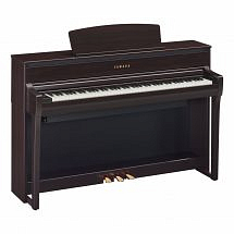 Yamaha CLP 675 Clavinova Digital Piano Rosewood