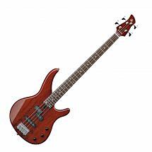 Yamaha TRBX174EW Bass Guitar, Root Beer