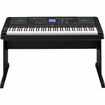 Yamaha DGX 660 Digital Piano with Stand, Black