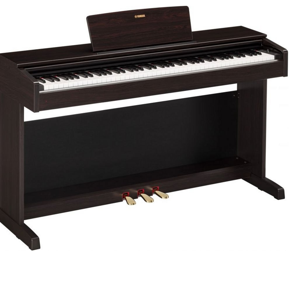 yamaha ydp 143 digital piano in dark rosewood music world. Black Bedroom Furniture Sets. Home Design Ideas