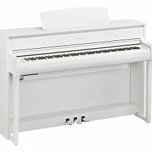 Yamaha CLP 675 Clavinova Digital Piano White