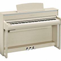 Yamaha CLP 675 Clavinova Digital Piano White Ash
