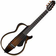Yamaha SLG200N Nylon String Silent Guitar in Tobacco Brown Sunburst